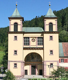 Kirche in Bad Rippoldsau