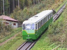 Standseilbahn Bad Wildbad